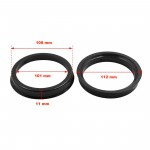 Hubcentric Rings 108/101 mm - 4 Pcs