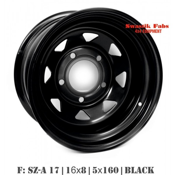 Steel Wheels for Mahindra Thar, Scorpio & Bolero (F)
