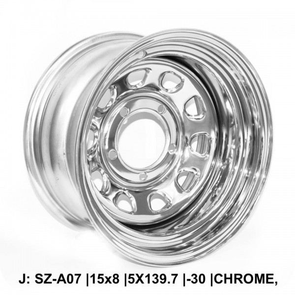 Steel Wheels For Maruthi Gypsy,Mahindra MM 440,MM 540,MM 550 & CJ3B