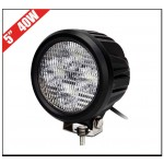 Flood Beam Round 40W CREE LED Working Lights P/N-HOT-TD 6043,