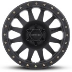 A - MR304 Double Standard, 16x8, 0mm Offset, PCD - 6/139.7, 108mm Centerbore, Matte Black
