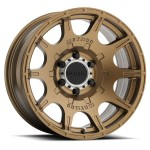 E - MR308 Roost, 17x8.5, 0mm Offset, PCD - 6/139.7, 106.25mm Centerbore, Method Bronze