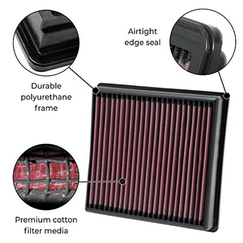 Replacement For Gypsy Air E High Suzuki amp;n 2553 K Performance Filter gbf7yvIY6