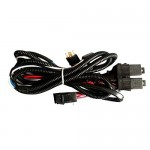 Hella - HeadLamp Wiring Harness 100/130W Max With Relay For High Performance